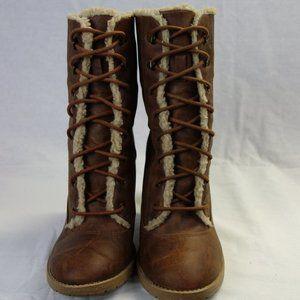 American Eagle Fur Boots
